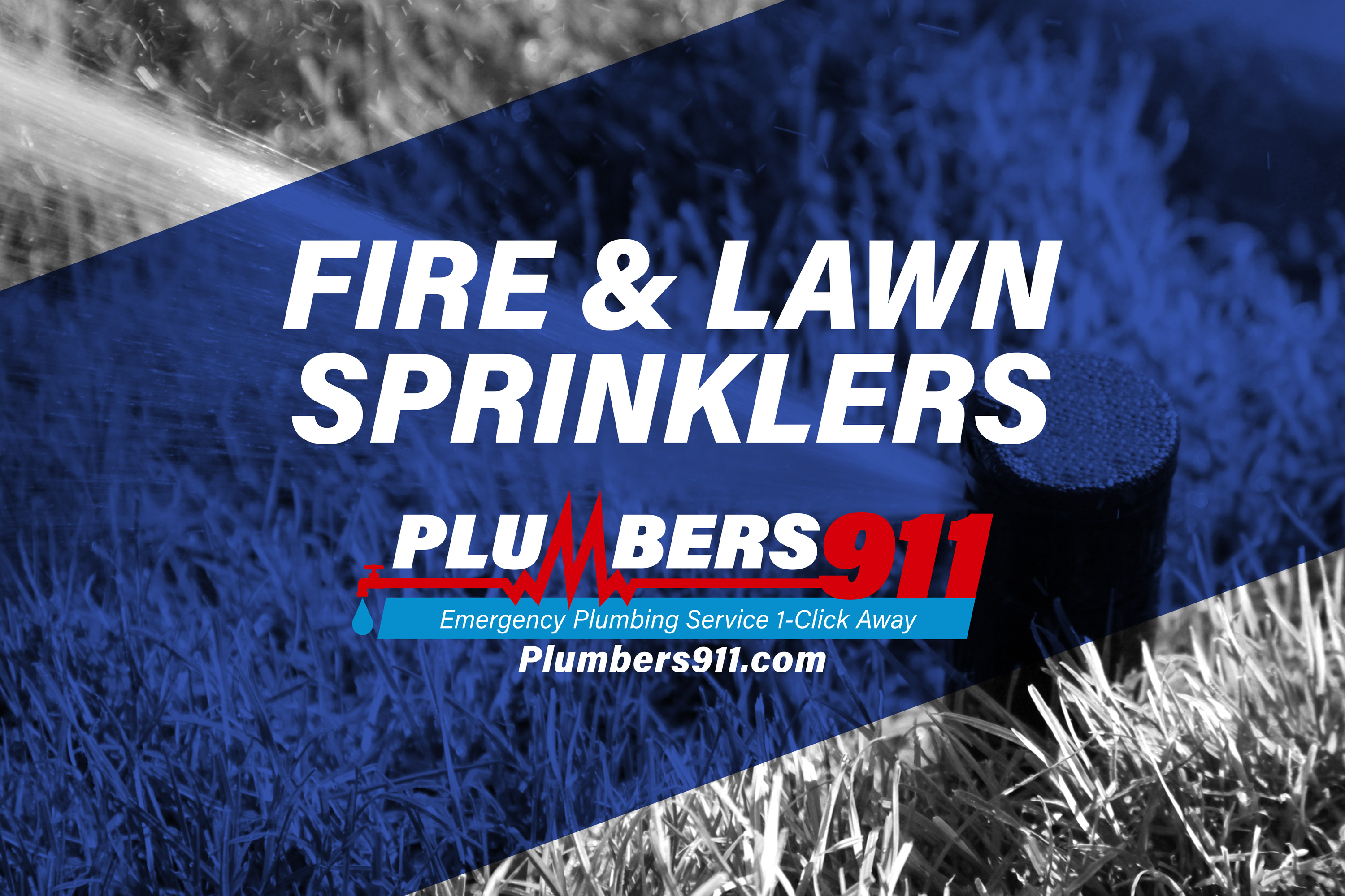 Plumbers 911 - Emergency Plumbing Services - Fire and Lawn Sprinklers
